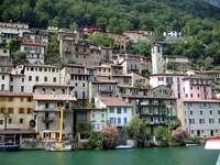 Gandria on Lake Lugano.