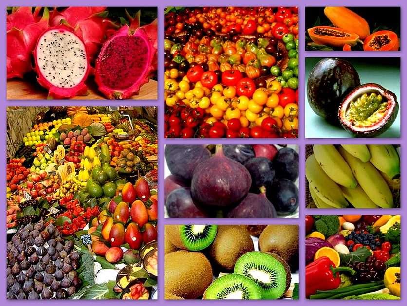 Koláž-ovocná
