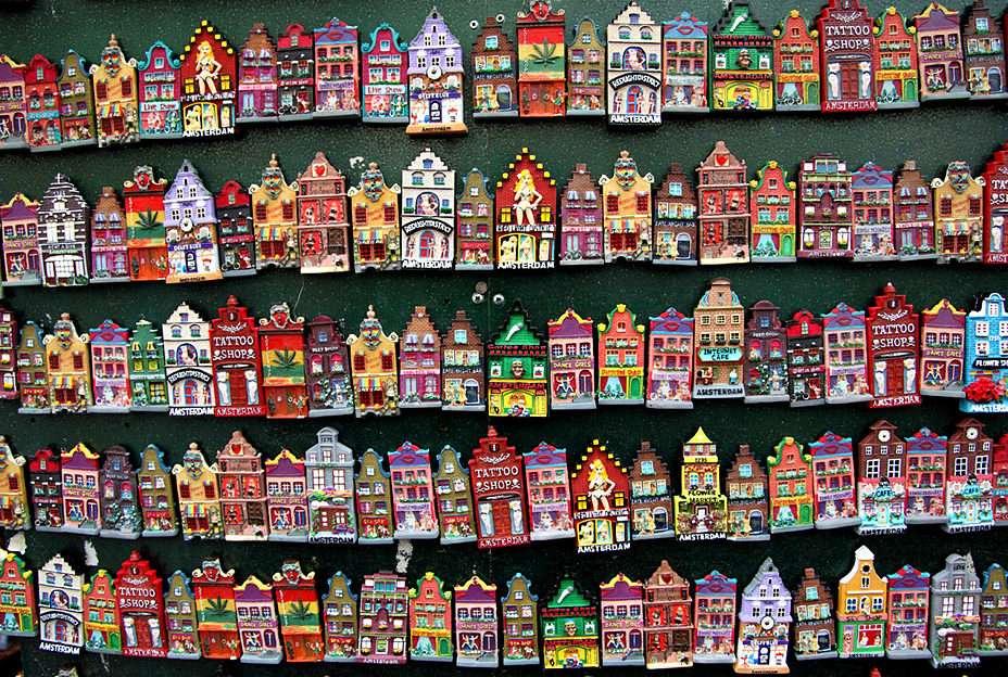 Boutique de souvenirs des Pays-Bas -  (16×12)