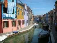 Νησί Burano, Ιταλία