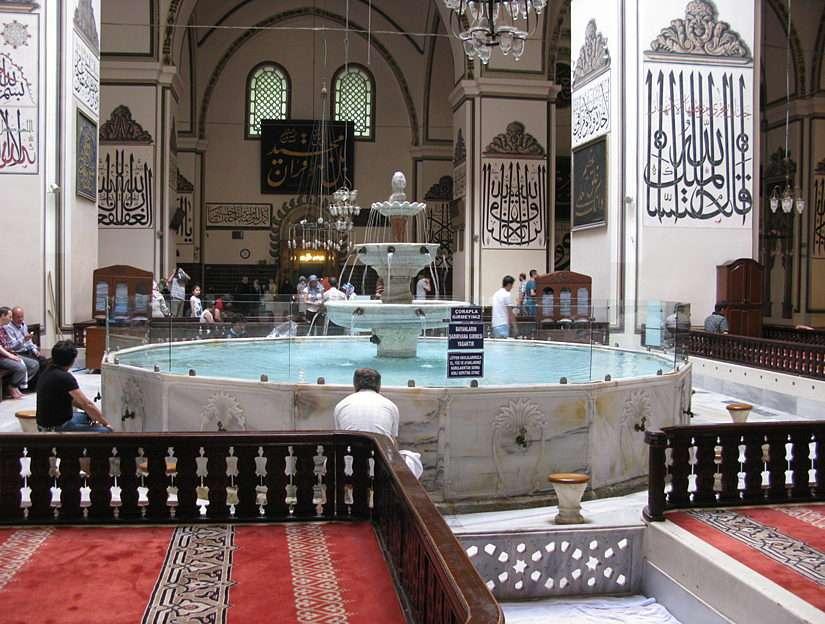 Джамия в Бурса - Турция