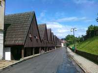 The cottages of Silesian Weavers