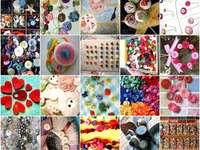 Collage de botones