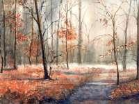 Bosque de otoño - Małgorzata Szczecińska