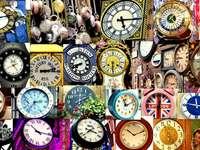 Collage-clocks