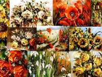 Blumencollage