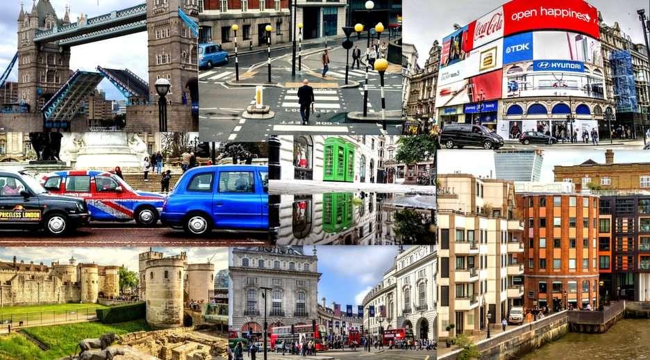 Collage di Londra puzzle