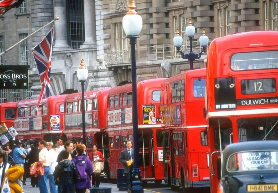 London pussel från foto