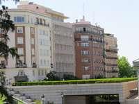 Tenement houses at the Prado Museum