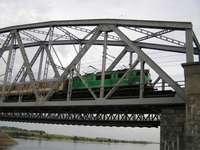 railway bridge in Tczew