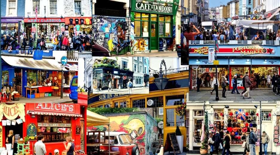 Portobello Road-Λονδίνο παζλ