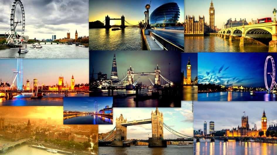 Londýnská koláž