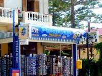 Kiosk with postcards