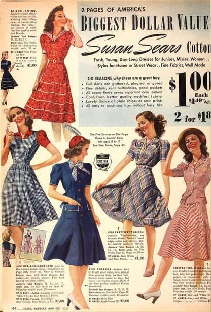 Thee jurk uit de jaren 40