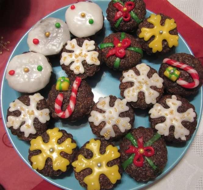 muffins de semente de papoula
