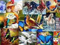 Fauna in painting