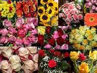 colaj de flori