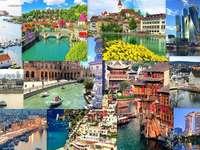 Miasta nad wodą