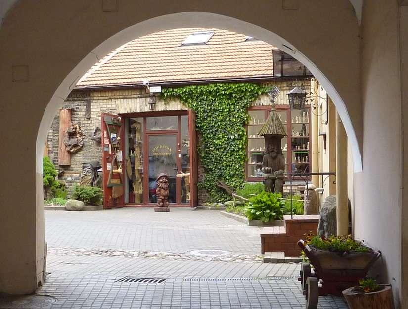 Vilnius Hinterhof