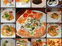 collage muy apetitoso
