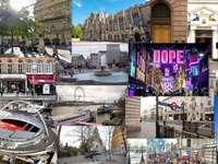 London collage