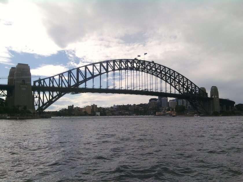 Sydney Hafenbrücke Puzzle vom Foto