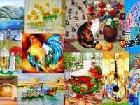 Pictură puzzle online