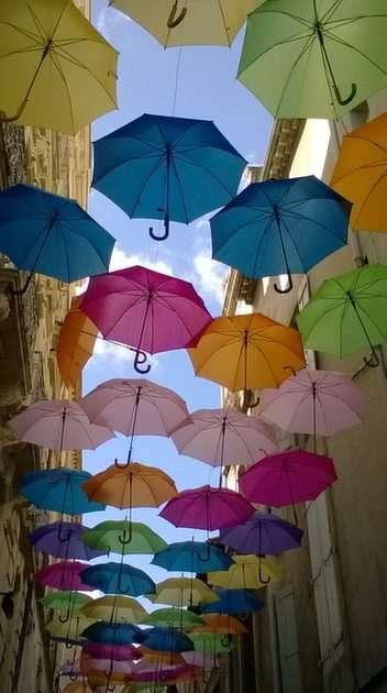 repülő esernyők