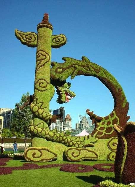 a világ kertjei puzzle