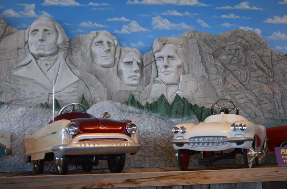 Pedala spre Mt. Rushmore