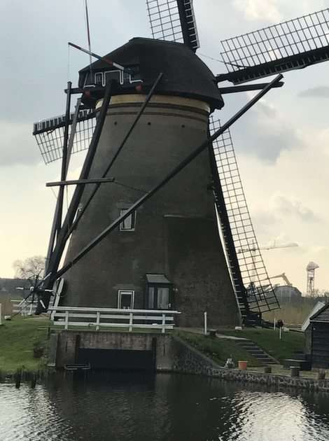 Niederländische Windmühle