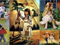 Children - painting