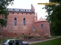 Castle in Barciany