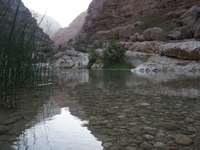 In the mountains of Oman