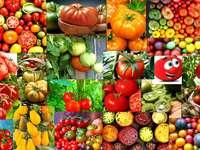tomater pussel från foto