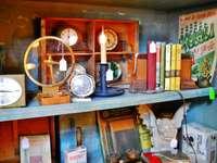 Antique Store Shelf