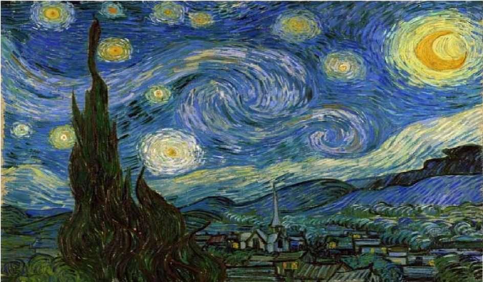 Notte stellata - Van Gogh puzzle