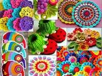 Crochet needlework