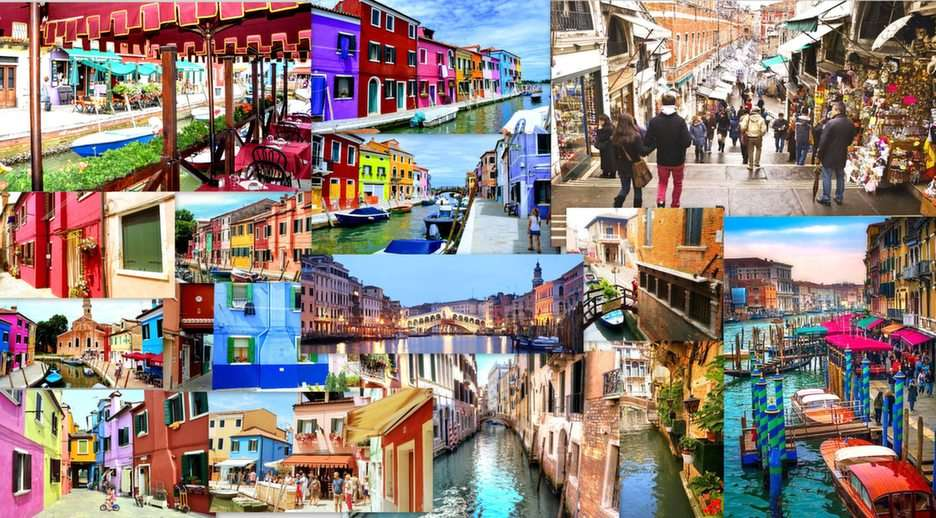 Colagem de Veneza