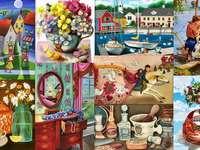 Afbeeldingen puzzel van foto