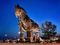 Trojanisches Troja-Pferd