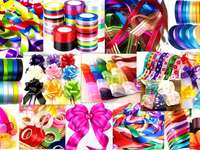 colorful ribbons