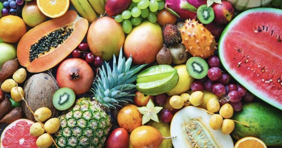 Frutta puzzle from photo
