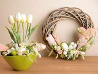 Lente decoratie