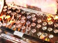 Antike Schreibmaschine