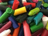 Broken Crayons online puzzle