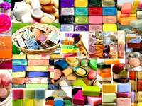 săpunuri colorate