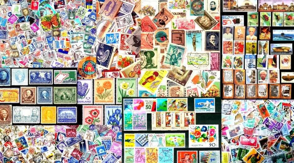 známky online puzzle