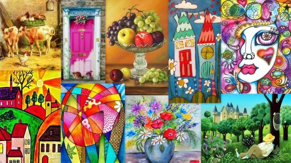 Paintings -  (17×15)