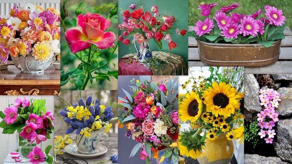 Flowers -  (17×15)